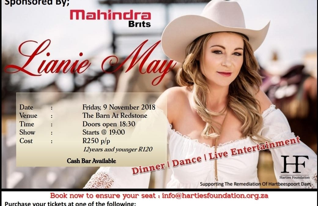 Lianie May – Dinner, Dance and Live Entertainment